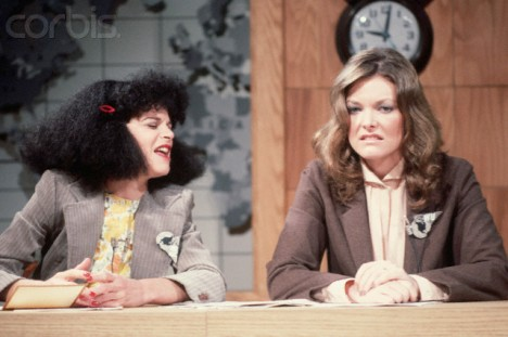 "Gilda Radner & Jane Curtin On ""Saturday"