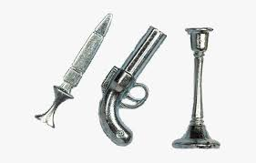 Clue Game Weapons Transparent, HD Png Download , Transparent Png Image -  PNGitem